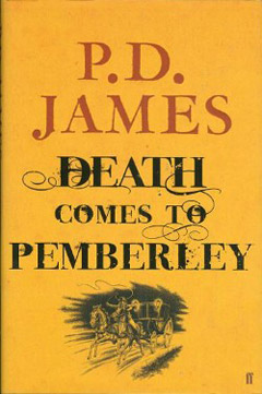Обложка англйиского издания книги Death Comes to Pemberley