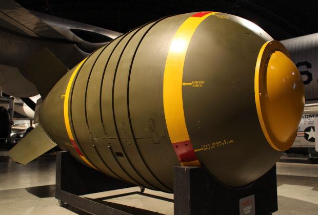 Макет бомбы Mark 6