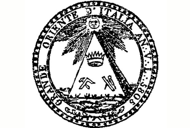 Печать «Великого Востока Италии»