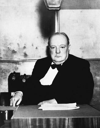 Уинстон Черчилль, 1939