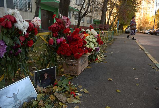 Место убийства Егора Щербакова