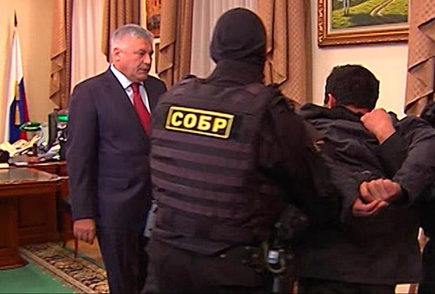 Орхан Зейналов в кабинете Владимира Колокольцева