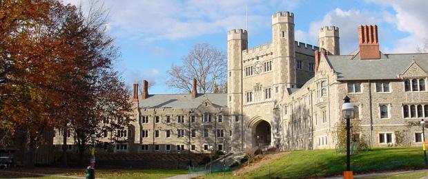Здание Принстонского университета