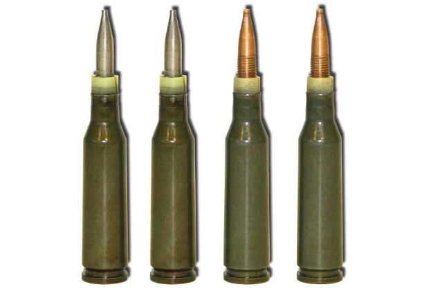 ПСП (серая пуля) и ПСП-У (бронзовая пуля)