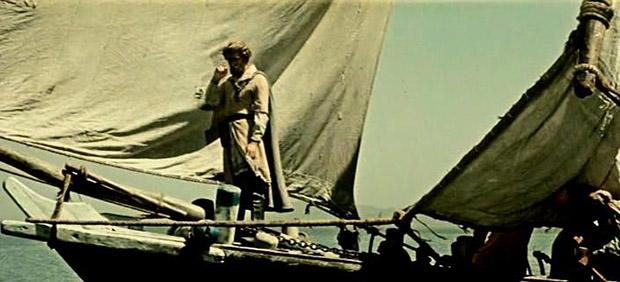 Кадр из фильма Василия Пронина и Ходжи Аббаса «Хождение за три моря»