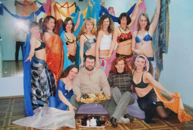 Вячеслав Веснин и члены «Оренбургского фонда самосовершенствования»