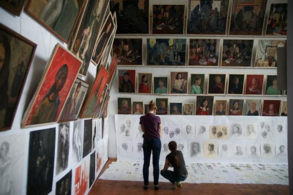 Занятия в Московском академическом художественном лицее