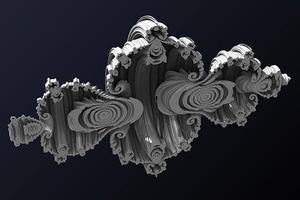 Кватернионное множество Жюлиа в пространстве чисто мнимых кватернионов
