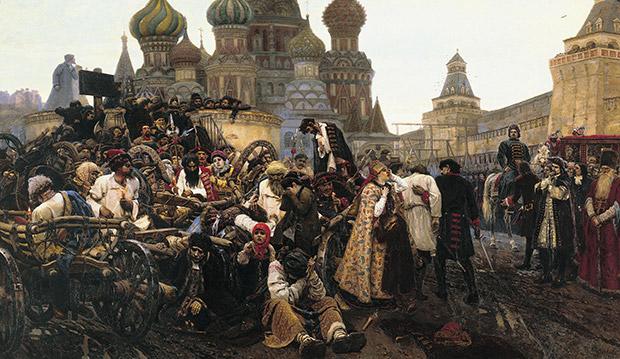 Картина Василия Сурикова «Утро стрелецкой казни»