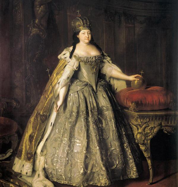 «Портрет императрицы Анны Иоанновны». Луи Каравак. 1730 год