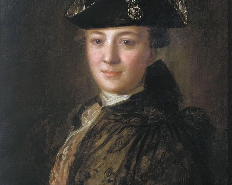 «Портрет неизвестного в треуголке». Федор Рокотов. Начало 1770-х