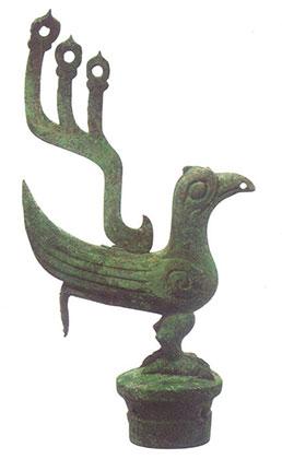 Статуя из Саньсиндуй, провинция Сычуань