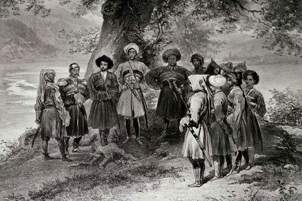 Григорий Гагарин, «Собрание черкесских князей»