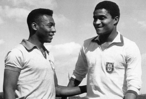 Пеле и Эйсебио, 1963 год