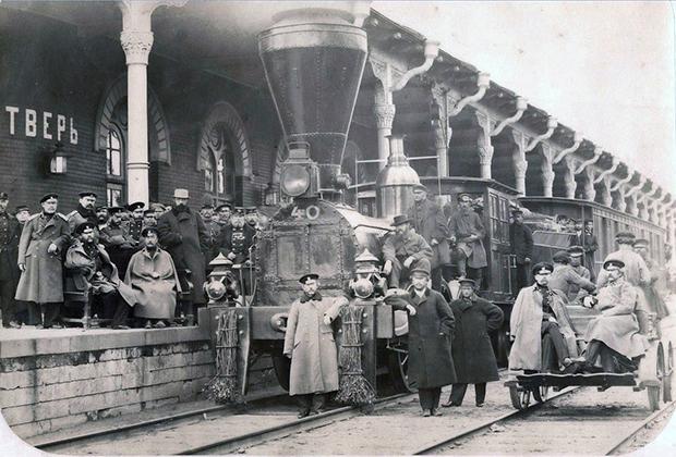 Станция «Тверь», 1860-е годы
