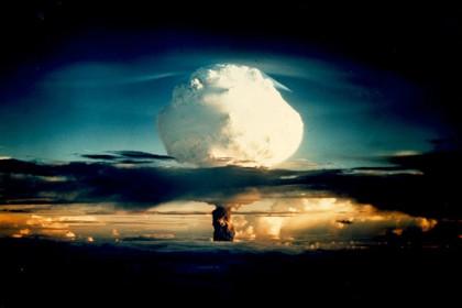 Испытание термоядерной бомбы Ivy Mike в 1952 году