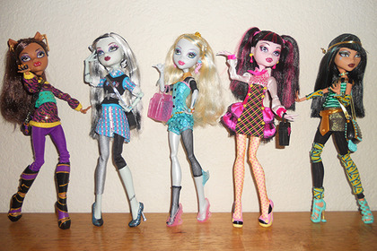 Куклы MonsterHigh