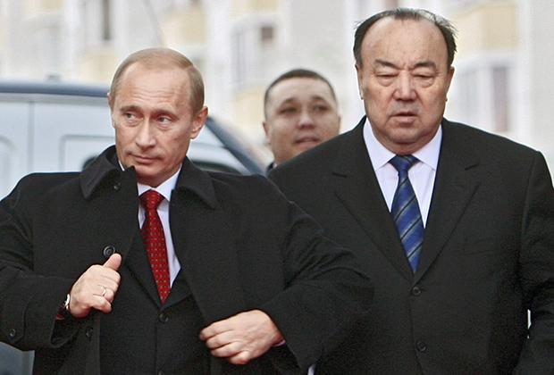 Владимир Путин и Муртаза Рахимов