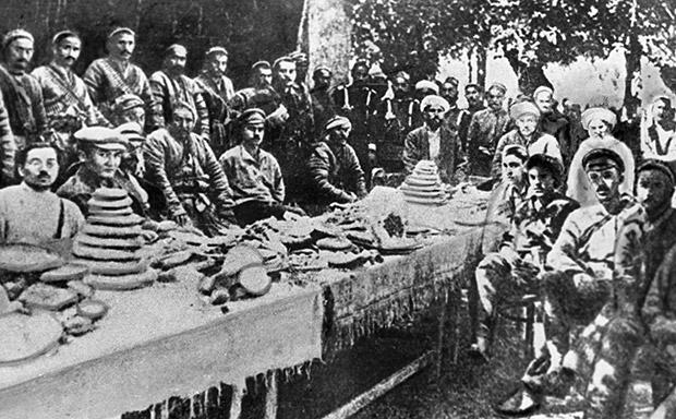 Переговоры с басмачами в Фергане
