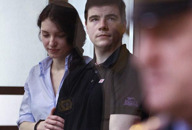 Никита Тихонов и Евгения Хасис