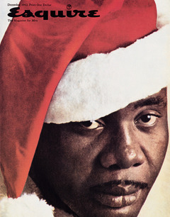 Санни Листон на обложке журнала Esquire, декабрь 1963 года