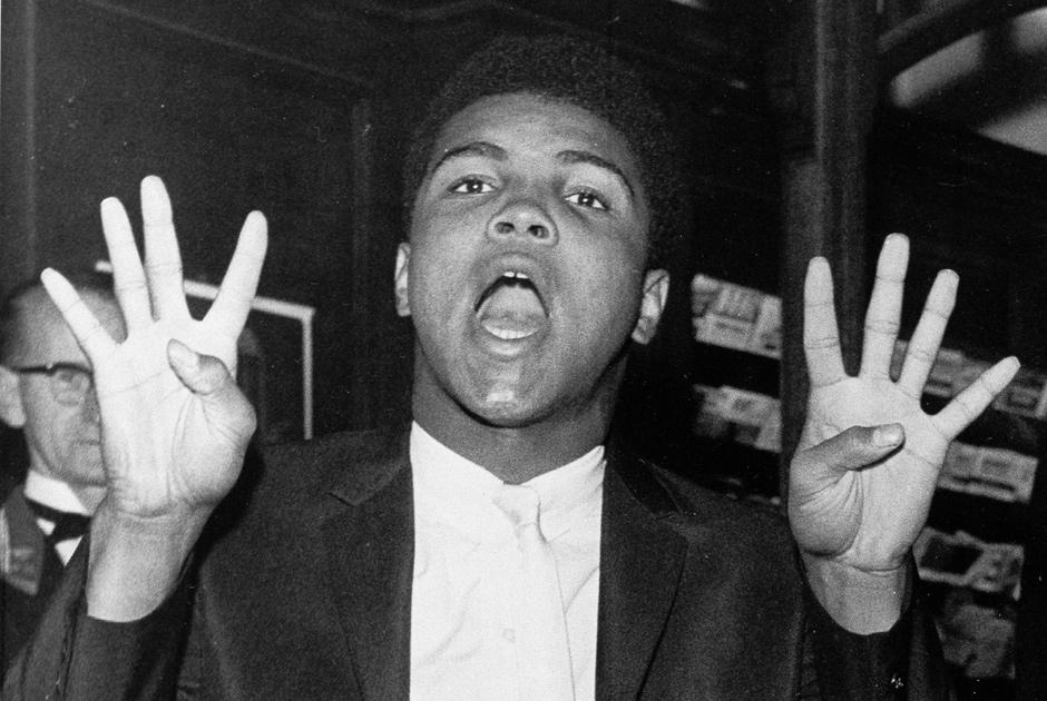 19 июля 1963 года. Кассиус Клей обещает победить Санни Листона в восьмом раунде