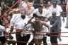 Кассиус Клей после победы над Санни Листоном, 25 февраля 1964 года