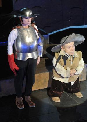 Сцена из спектакля «Circo Ambulante»