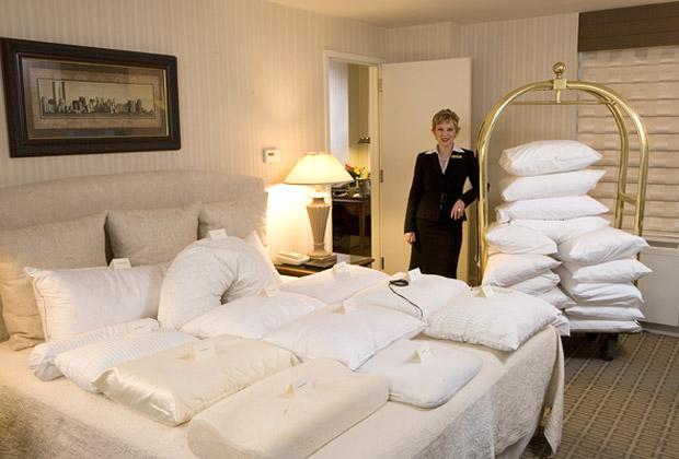«Менеджер по снам» в отеле The Benjamin поможет подобрать самую удобную подушку