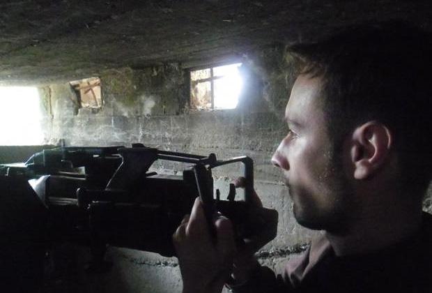 Бартош Бекер в Сирии