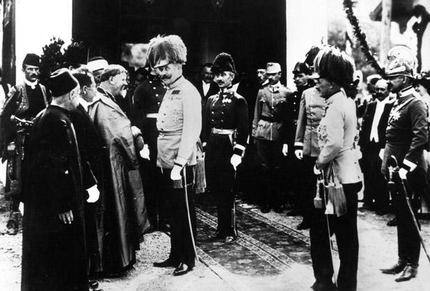 Франц Фердинанд в Сараево, 28 июня 1914 года