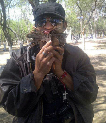 Broly Banderas,  член наркокартеля «Рыцари ордена тамплиеров»