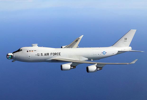 Самолет YAL-1A Airborne Laser