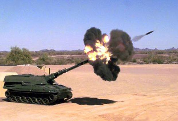 Самоходный артиллерийский комплекс «Крусейдер»