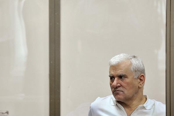 Саид Амиров во время оглашения приговора