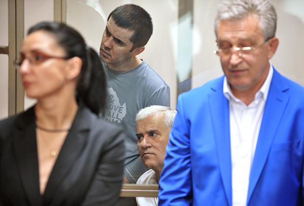 Юсуп Джапаров и Саид Амиров во время оглашения приговора