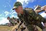 Курсантки Рязанского высшего воздушно-десантного командного училища имени генерала армии В.Ф. Маргелова проходят курс молодого бойца.