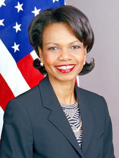 Афроамериканка Кондолиза Райс — 66-й Государственный секретарь США — яркий пример, вызывающий сомнение в генетической предопределенности интеллекта