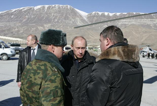 Визит Владимира Путина в Дагестан, 4 февраля 2008 года