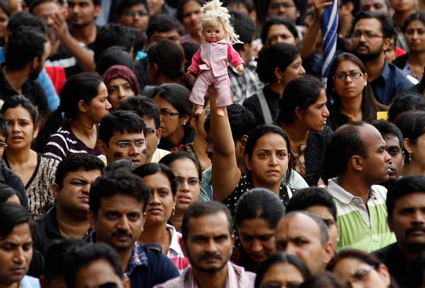Митинг против изнасилований