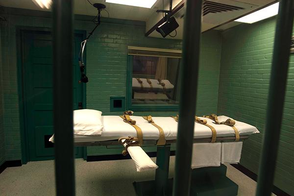 Камера, где приводят в исполнение смертный приговор, штат Техас, США