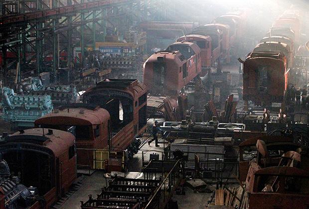 Локомотиворемонтный завод
