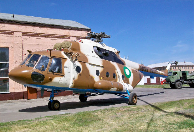 Ми-17 ВВС Пакистана