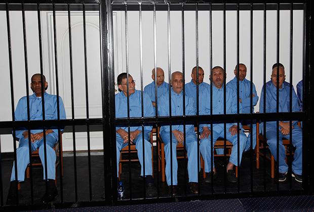 Члены правительства Муаммара Каддафи
