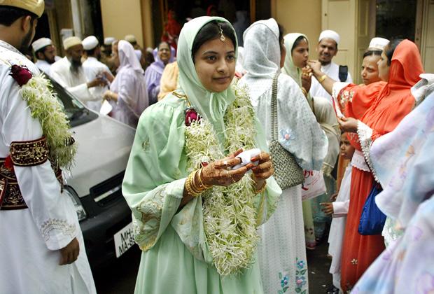 Невеста-мусульманка в Мумбаи