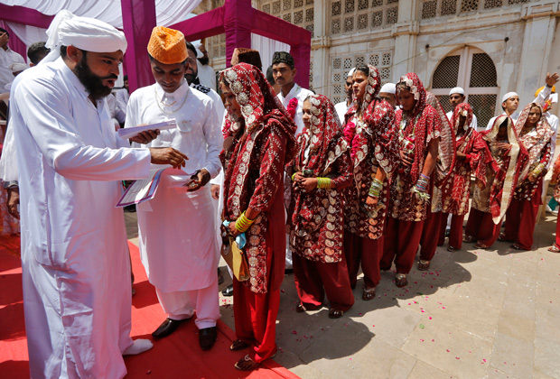 Мусульманская свадьба в Индии
