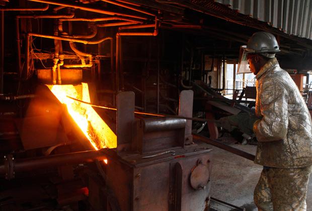 Завод по переработке платины в Зимбабве
