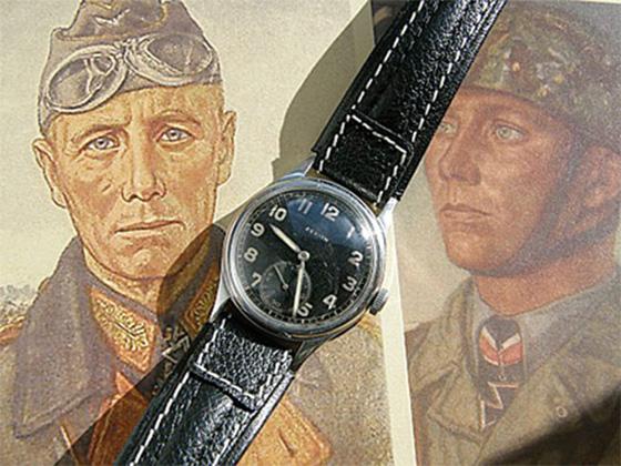 «Командирские часы» африканского корпуса Эрвина Ромеля.