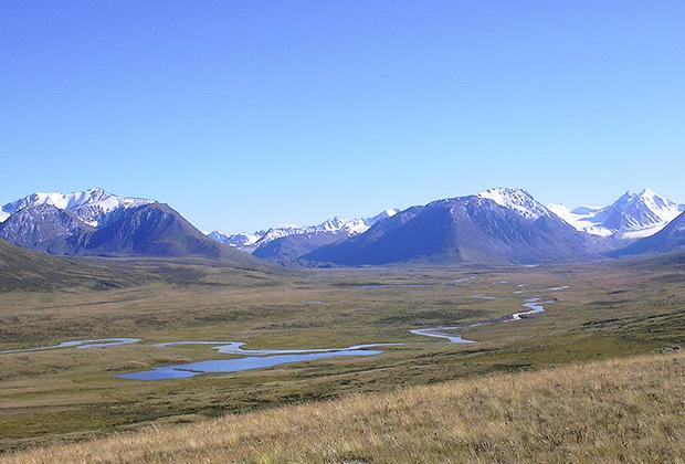 Долина Ак-Алахи, плоскогорье Укок