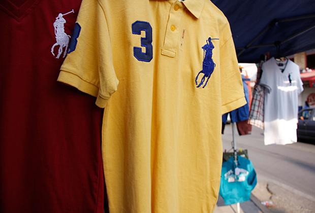 Фирменные футболки и рубашки-поло от Ralph Lauren нещадно подделывают. Это ли не успех?